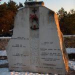 """Il monumento nazionale all'ingresso della """"foiba"""" di Basovizza"""