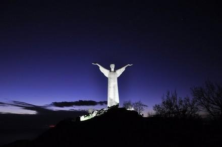 Il Cristo di Monte San Biagio