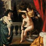 Bethsabée au bain c.1640-45, collection particulière