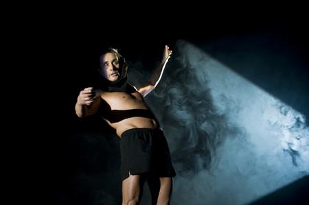 Angelo Bison in Pecora Nera - Théâtre Le Rideau. Foto Alessia Contu