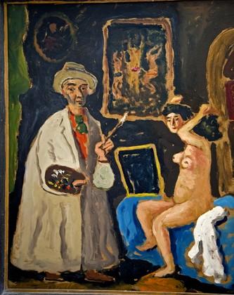 Autoritratto con Lucia