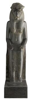 Statua di Sekhmet seduta