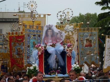 Fête de la Madonna dell'Arco, photo Anna Maria Moccia