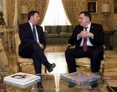 Renzi e Serraj