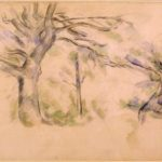 Paul Cézanne, Grandi alberi, Collezione Prat Parigi