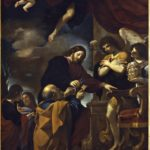 """Guercino, La cattedra di San Pietro, 1618, Cento, Pinacoteca Civica """"Il Guercino"""""""