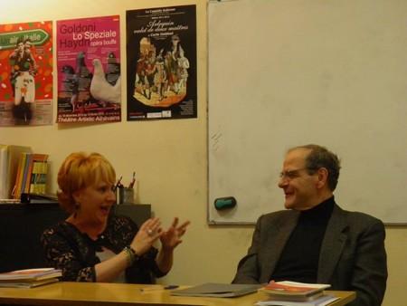 Cinzia Demi con Nicola Guarino