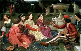 I novellatori. William Waterhouse.