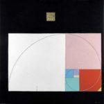La divina proporzione, 2011, cm 100x100