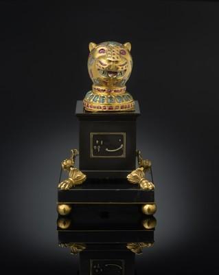 Elemento decorativo dal trono di Tipu Sultan, Mysore, 1787-1793 circa; Al Thani collezione