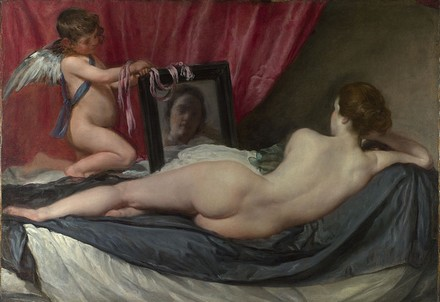 Diego Vélasquez - The National Gallery, London, Vénus à son miroir