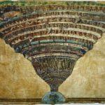 La carte de l'Enfer par Sandro Botticelli