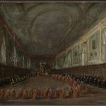 IV. Pio VI prende congedo dal doge nel convento dei Santi Giovanni e Paolo