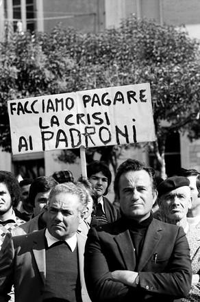 Termoli 1975. Manifestazione operai Fiat © Flavio Brunetti