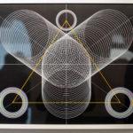 Moneyless - Genesis Black 025, 2013 spray & acrylique sur papier 50 x 70cm