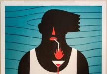 Agostino Iacurci - Oasis, 2013 acrylique sur toile 140 x 100cm
