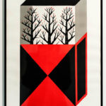 Agostino Iacurci - Sans Titre, 2013 acrylique sur papier 60 x 40cm