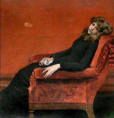 WILLIAM MERRITT CHASE, The young orphan, 1884 © National Academy of Design New York