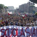 Corteo studentesco a Roma