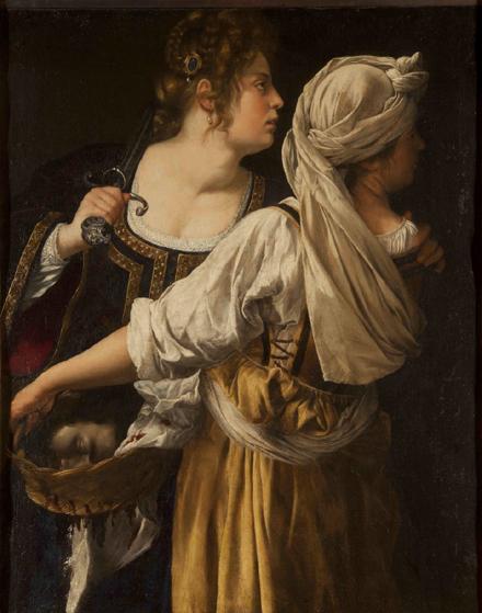 Judith et la servante avec la tête d'Holopherne c.1617, Florence, Galleria Palatina