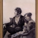 """Jacques-Louis David, """"Ritratto di François-Eugène David e di sua moglie Anne-Thérèse"""""""