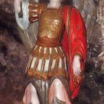 Statua di San Michele nell'abbazia