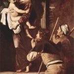 Caravaggio, Madonna dei Pellegrini, Roma, Chiesa di S. Agostino