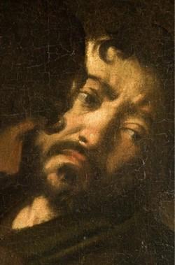 Autoritratto di Caravaggio, Roma, Chiesa di S. Luigi dei Francesi