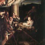 Correggio, Adorazione dei pastori (La Notte), Gemäldegalerie, Dresda