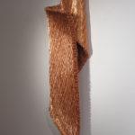 """Armonico CLXXIII"""" 2011 Fili di rame 124x33x24 cm Courtesy Antonella Zazzera"""