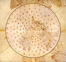 S. Botticelli, Dante e Beatrice nel cielo di Mercurio
