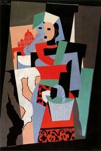 L'Italienne, de Picasso, Fondation Bührle