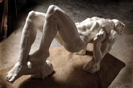 Cattivo ladrone (Méchant voleur), de Ettore Greco