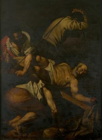 Copia antica della Crocifissione di san Pietro di Caravaggio