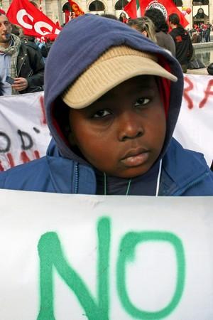 F. Brunetti, No al razzismo, 2010