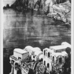 "La ""Stracasa"" Favaï poi Villa Vismara. Disegno di Hans Paule."