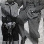 Carlo Talamona con la mogie tedesca