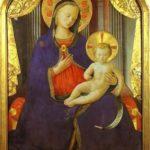 Vierge à l'enfant, Fra Angelico - Galleria Saubada, Turin