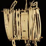 1. Francesco Toris, Panier à outils © Musée d'anthropologie criminelle Cesare Lombroso