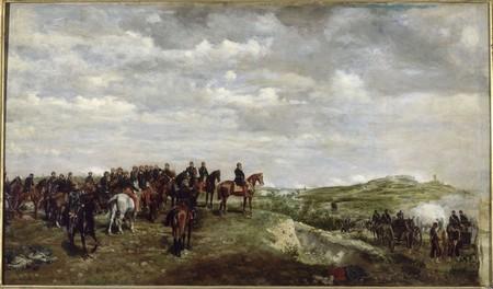 Napoleone III a Solferino, di Jean Louis-E. Meissonier, 1863 ©Rmn