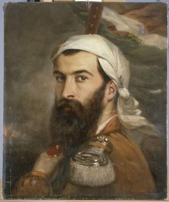 Giuseppe Garibaldi, di Auguste Etienne, 1856 ©Musée de l'Armée