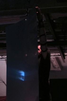 Dario Buccino performance ©Alexander Lebier