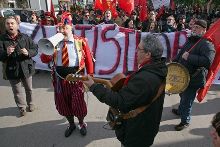 I Zezi, gruppo storico di Pomigliano d'Arco © Flavio Brunetti