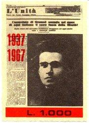L'Unità fondata nel 1924 da Antonio Gramsci