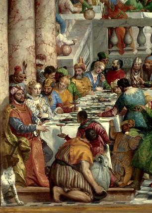 Noces de Cana (1562-63), Paolo Veronese, Musée du Louvre
