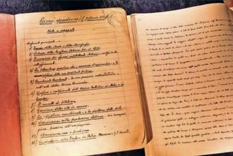 La prima pagina dei Quaderni del carcere