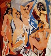 Les demoiselles d'Avignon, di Picasso, 1907