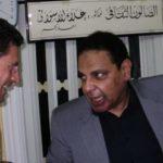 Giovanni Capecchi con 'Ala Al-Aswani