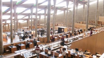 Nuova biblioteca interno