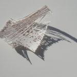 """C/S E0-08"""" 2009 Cellulosa e fili di rame cm 25x36 Courtesy Grossetti Arte Contemporanea, Milano"""